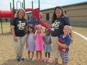 PRE-K Students Enjoy New Playground Equipment