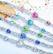lovely shiny bracelet