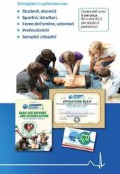CORSO DI RIANIMAZIONE CARDIO POLMONARE CON L'UTILIZZO DEL DEFIBRILLATORE SEMIAUTOMATICO