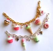 Desserts Charm Bracelet