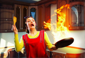 How fires start in the Kitchen