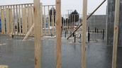 Framing has started!