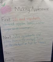 Making Applesauce