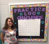 Kelsey Kurdle, Student Teaching