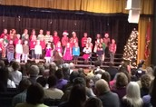 Packed House at the CES Christmas Musical