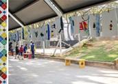 Exposição no Centro Pedagogico