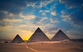 Pyramids In Ancient Egypt