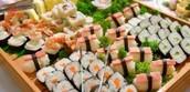 Our gorgeous sushi