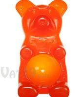 Orange Gummie Bear