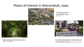 Places of Interest in Shenandoah, Iowa