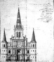 Sketch of cathedral