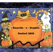 Decorate-a-Pumpkin Contest