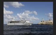 The Gemini Cruise ship in the Havana Harbor.