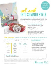 Host your own Jewelry Bar to get your shopping done for FREE. Origami Owl has an awesome hostess rewards program and you can earn up to 30% of sales in free product, half-price items and unique Hostess Exclusives!