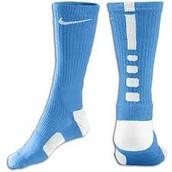 Los la Nike azul de sólo un color la calcetines. La ganga $15-quince dólares