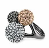 Soiree Trio Ring - Adjustable Size