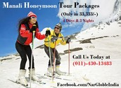 Manali Honeymoon Tour Packages