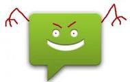 evil text message
