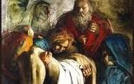 14.Pan Jezus do grobu złożony.