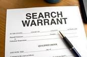 A search warrant
