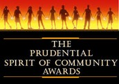 Prudential Spirit of Community Award - up to $5,000