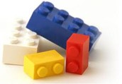 "Teens and ""tweens"" get a chance to play with the library's extensive collection of Legos."