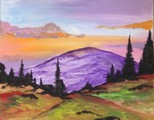 Mystic Purple Mountain