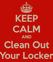 LOCKER CLEAN-OUT DATES & TIMES