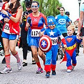 Please join the Superhero's for an amazing race!