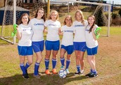 Senior soccer girls