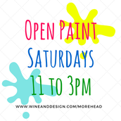 Open Paint Saturday