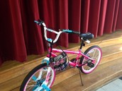 Citizens' School is holding a bike raffle!!!