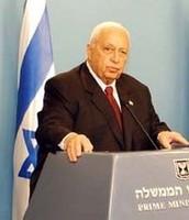 Ariel Sharon Prime Minister