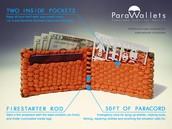 paracord cartera