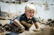Muddy Clothes during Recess