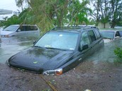 Flooding near Florida.