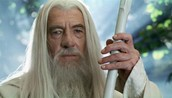 Gandalf as Ian Mckellen