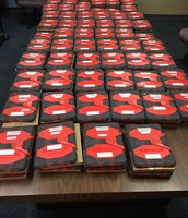 IPADs distribution central!
