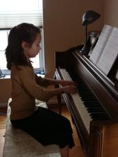 Cuando empecé tocar el piano