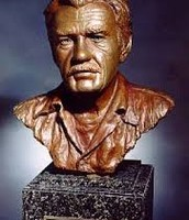 wen he died someone mad a statue of hem