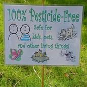 Say NO to pesticides!