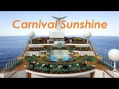 The Carnival Sunshine Cruise!!
