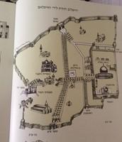 מפת ירושלים הממלוכית