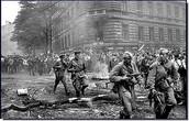 Revolt in Czechoslovakia