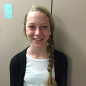 Student of the Week:  Katie Dursky!