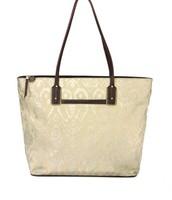 La Totale Tote bag in Metallic Ikat $34 (exterior view)