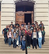 We visited the Statehouse.