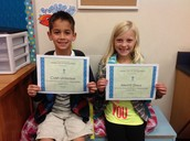 Responsibility Students of the Month (August)