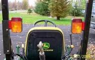 Tractor hazard lights