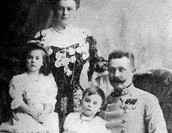 Franz and his family